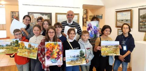 Экскурсия в Дом союза художников